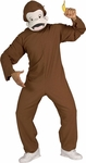 Adult Curious George Monkey Costume