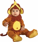 Baby Banana Monkey Costume