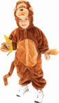 Child's Plush Monkey Costume