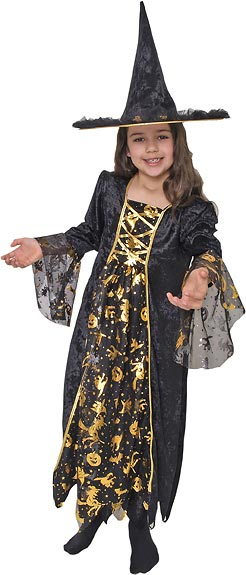 Child's Glamour Witch Costume