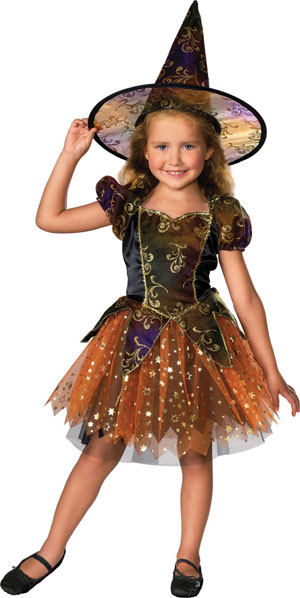 Child's Elegant Witch Costume