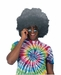 Grey Afro Wig