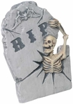 Break-Out Skeleton Halloween Tombstone Prop