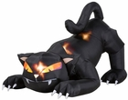 Airblown Animated Black Cat Inflatable