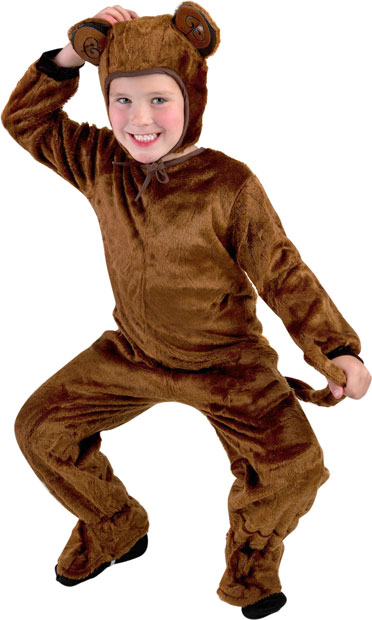 Toddler Fur Monkey Costume