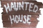 Haunted House Wall Plaque