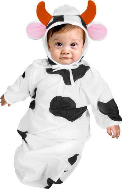 Baby Cheap Cow Costume