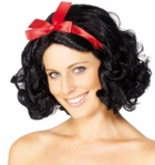 Adult Short Snow White Wig