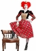 Adult Red Queen of Hearts Costume