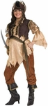 Adult Pirate Queen Maternity Costume
