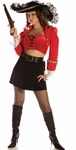 Women's Sexy Captain Ruby Costume