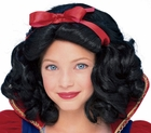 Deluxe Child's Snow White Costume Wig