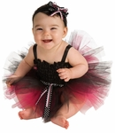 Black & Pink Infant Tutu Costume