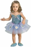Child's Blue Daisy Ballerina Girl Costume
