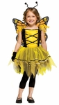 Girl's Golden Butterfly Ballerina Costume