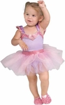 Toddler Purple Ballerina Girl Costume