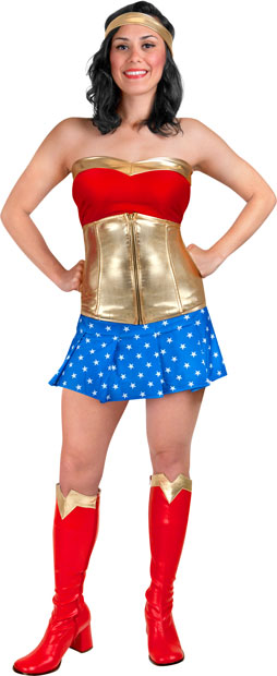 Teen Sexy Wonder Woman Costume