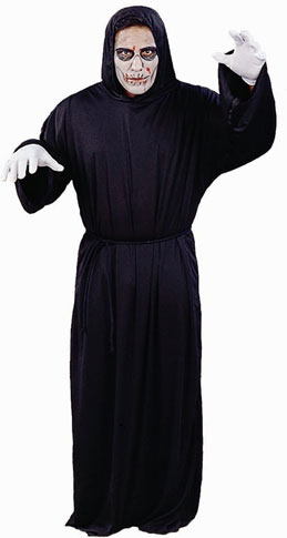 Plus Size Ghoul Robe Costume