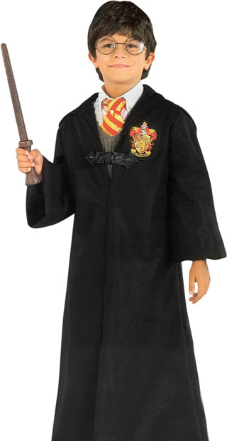Deluxe Harry Potter Robe & Clasp Costume