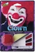 Clown Halloween Makeup Kit w/ Nose