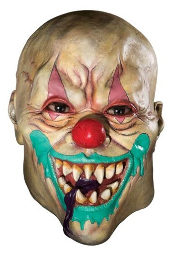 Demon Clown Costume Mask