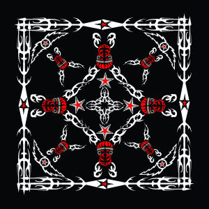 Tribal Red Bandanas