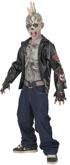 Child's Punk Zombie Costume