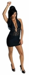 Snooki Black Dress