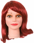 Adult Gilligan's Island Ginger Costume Wig