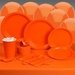 Orange Deluxe Party Kit
