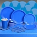 Bright Royal Blue Deluxe Party Kit