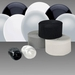 Silver, White & Black Decorating Kit