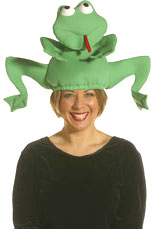 Jumping Frog Hat