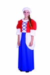 Teen Colonial Girl Costume Dress