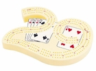10 inch 3 Track Lucky 29 Plastic Cribbage Board