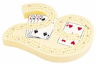 Large Plastic Cribbage Board