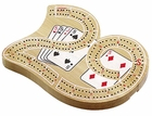 Small Two Track Cribbage Board