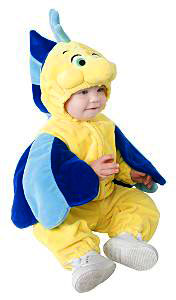 Baby Flounder Fish Costume
