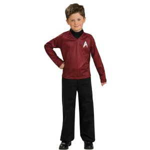 Child's Star Trek Red Shirt Costume