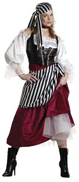 Adult Pirate's Wench Costume