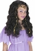 Child's DK Brown Princess Wig