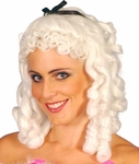 White Southern Belle Wig