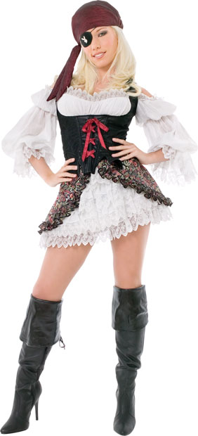 Playboy Sexy Buccaneer Pirate Costume