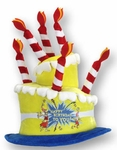 Dr. Seuss Birthday Cake Hat