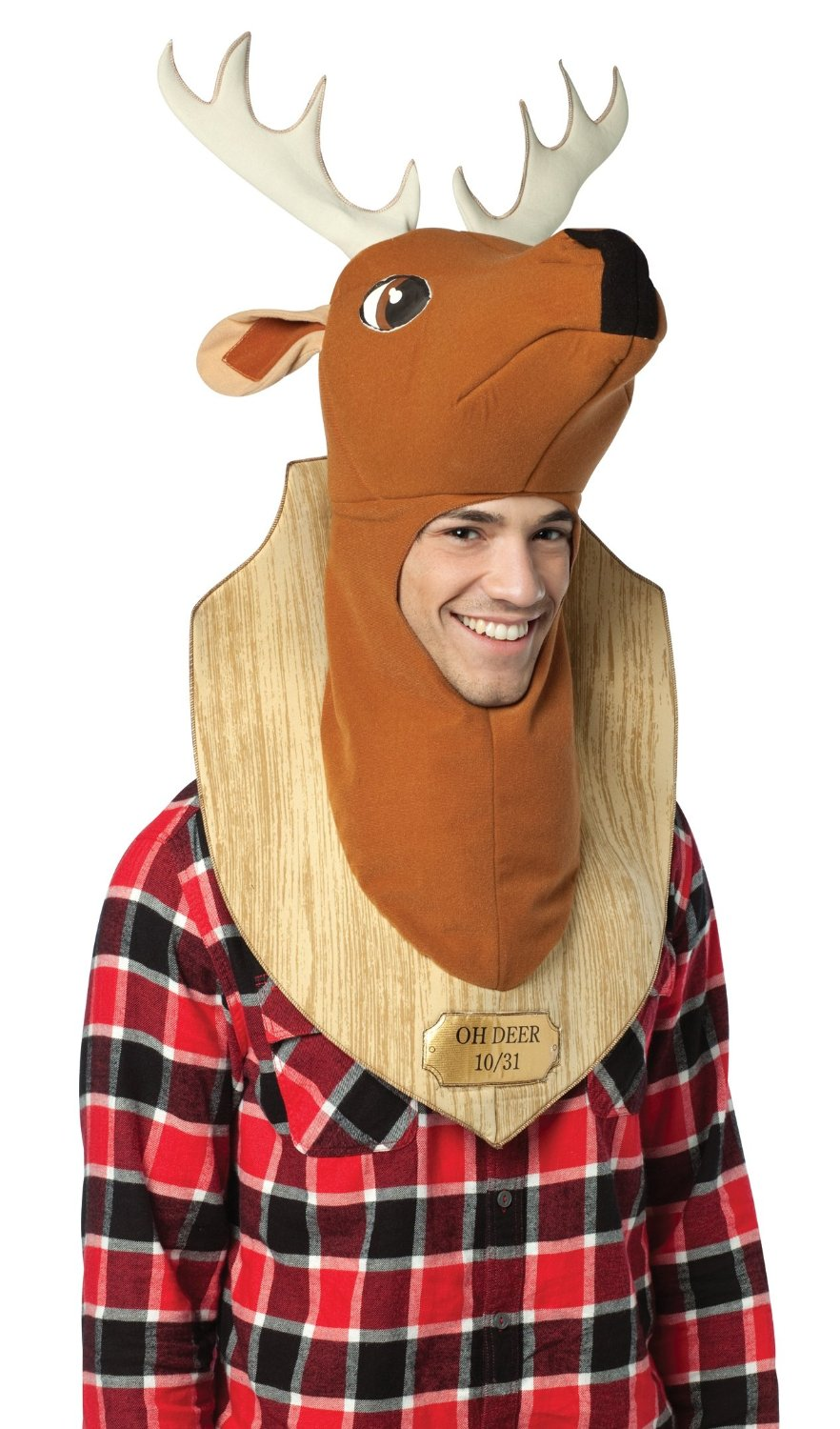 Deer Trophy Head Costume Hat