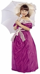 Child's Fuschia Southern Belle Costume