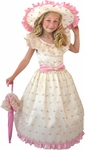 Child's White Southern Belle Costume