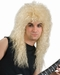 80s Style Blonde Rock Band Wig