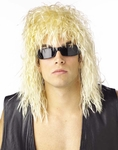 80's Blonde Rock Star Wig