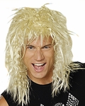 Blonde 80's Hair Band Wig